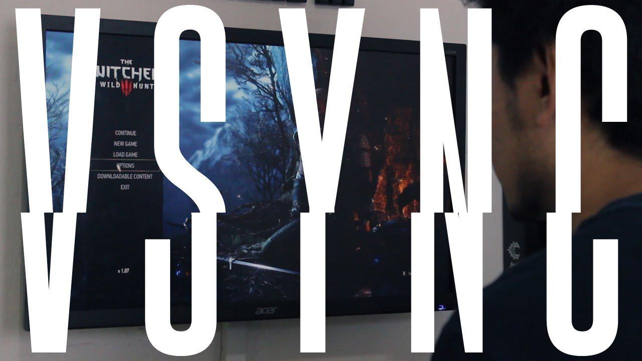 Что такое VSYNC в играх